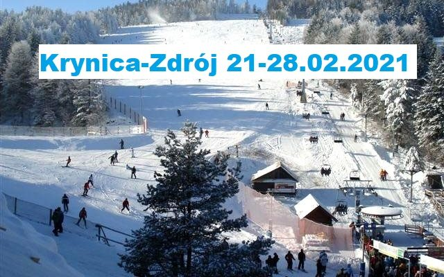 Obóz zimowy, 21-28.02.2020 Krynica Zdrój