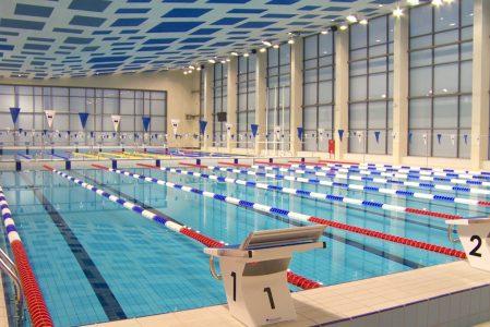 Zgrupowania na basenie 50-metrowym